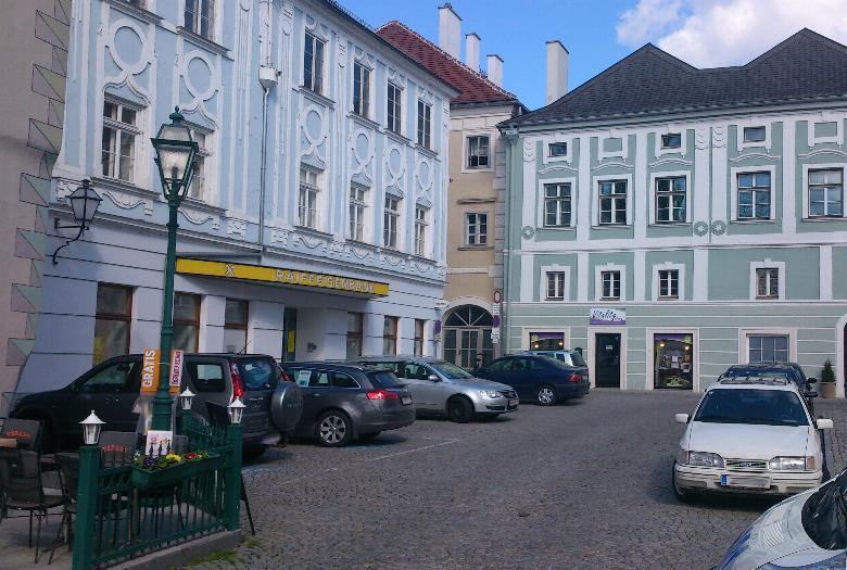 Sanierung Raiffeisenbank Stein/Donau