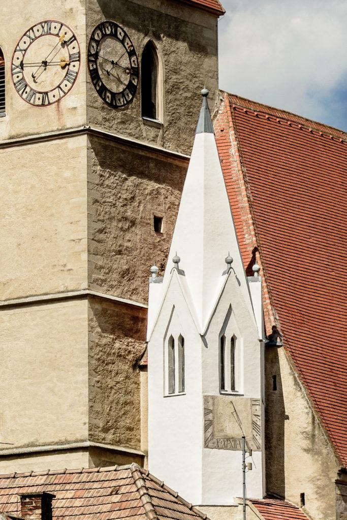 Sanierung des Kirchenturms Weißenkirchen